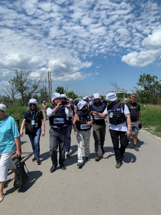 international election observers in Kasakhstan
