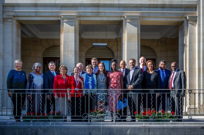 The 139th Assembly of the IPU will take place in Geneva, Switzerland, on 12 - 18 october 2018: Executive Committee group photo