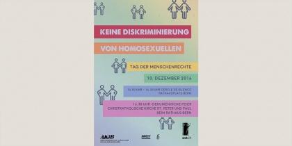 Keine Diskriminierung von Homosexuellen