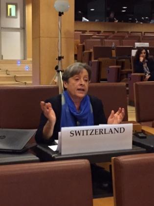 Foto Margret Kiener Nellen OSZE Konferenz Angorra